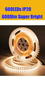 warm white led light stirip