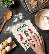 Gnome Holiday swedish dishcloth