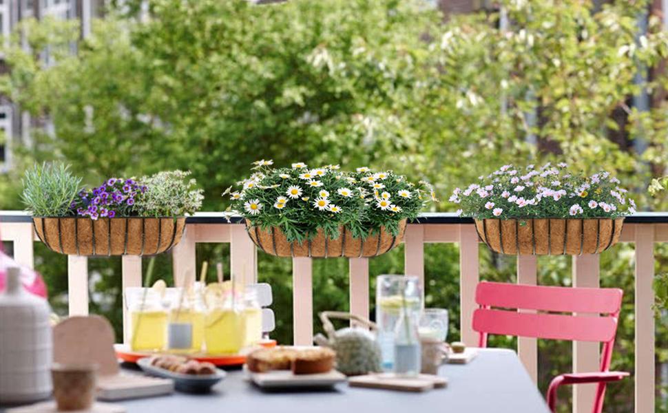 garden flower basket liner