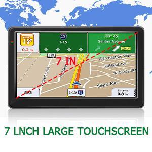 "7"" Touch Screen GPS Navigation"