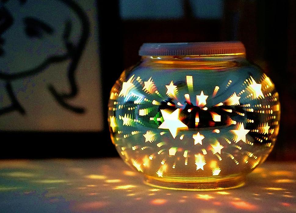 星星玻璃罐q