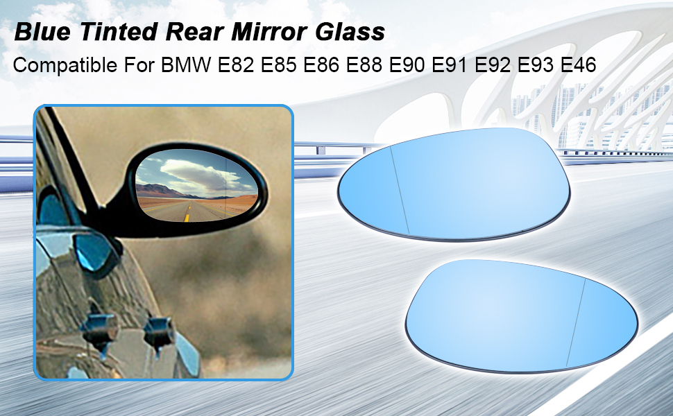 BMW E90 Mirror Glass