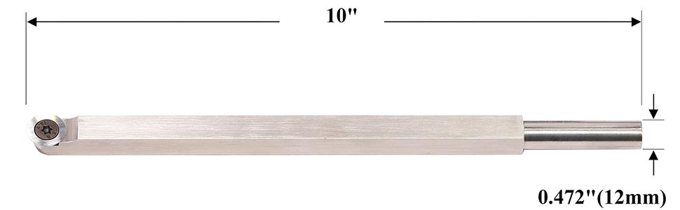 Turner amp; Hollower Carbide Wood Turning Lathe Tool