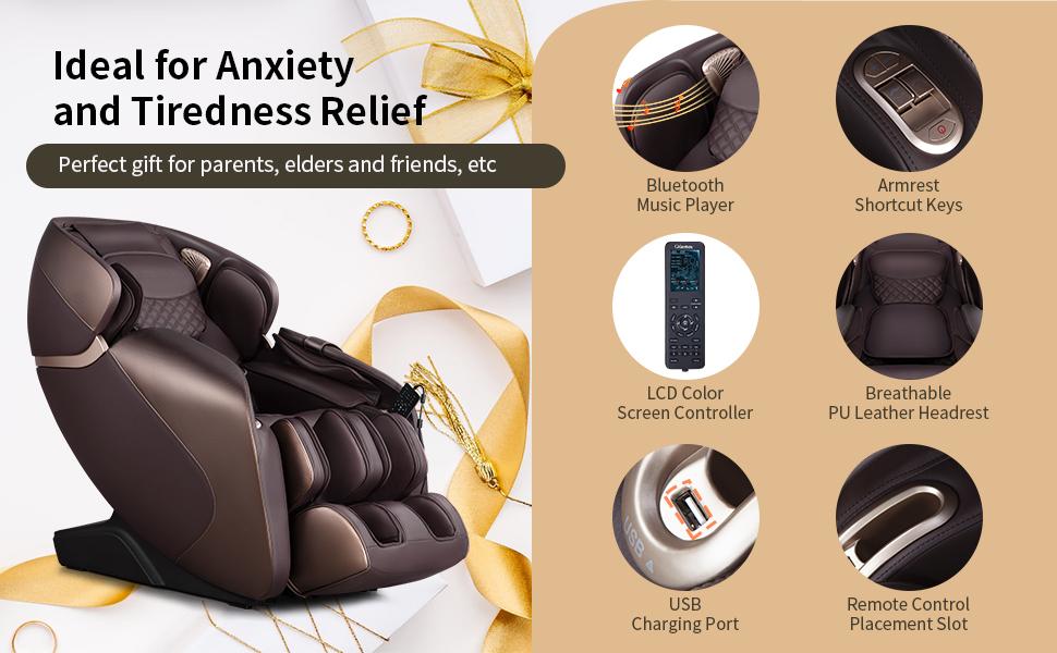 sl track 3d massage chair