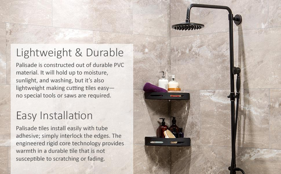Palisade Tile Lightweight Durable Easy Installation