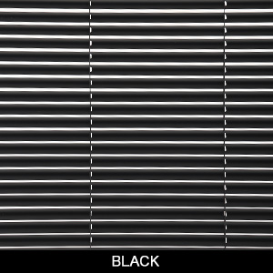 Black electric blinds
