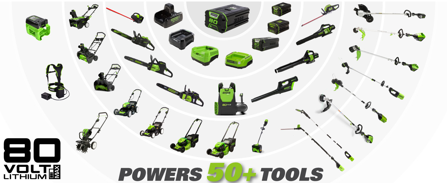 power 50+ tools