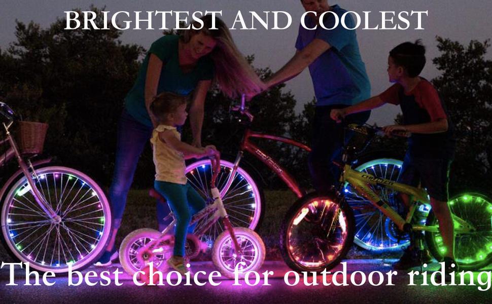 bike lights for wheel
