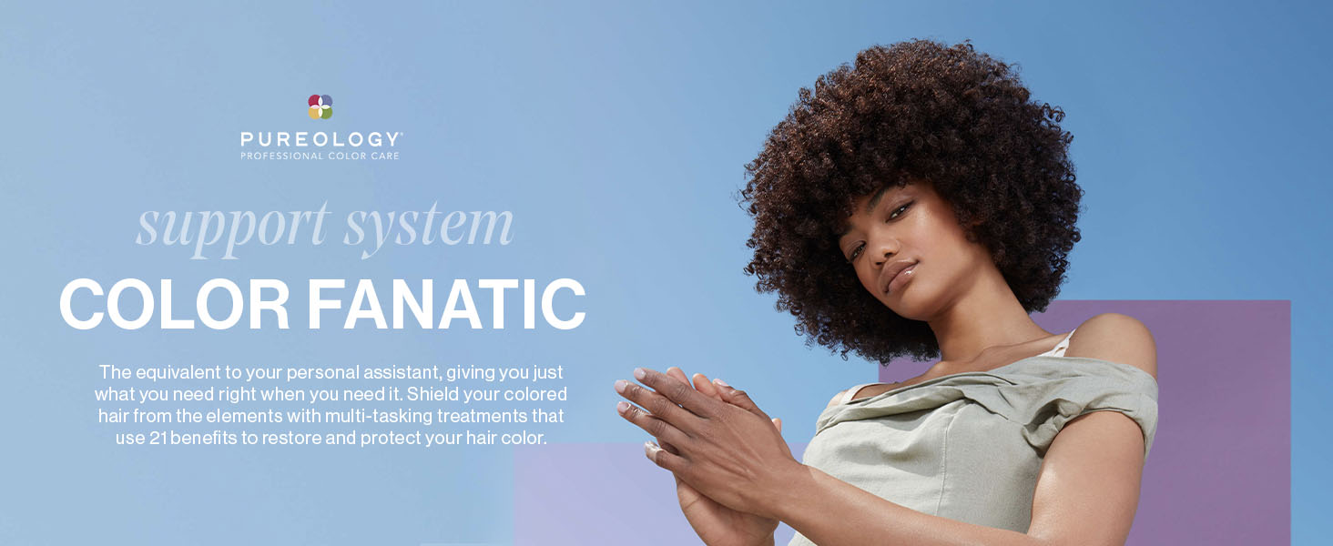pureology color fanatic hair multi-tasking deep conditioning leave in treatment