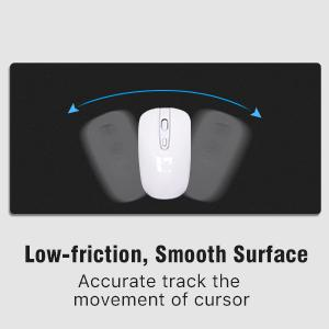 low-friction, smooth surface