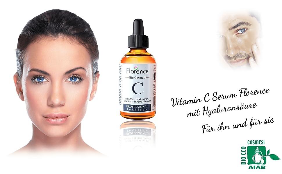 florence organics serum med vitamin c
