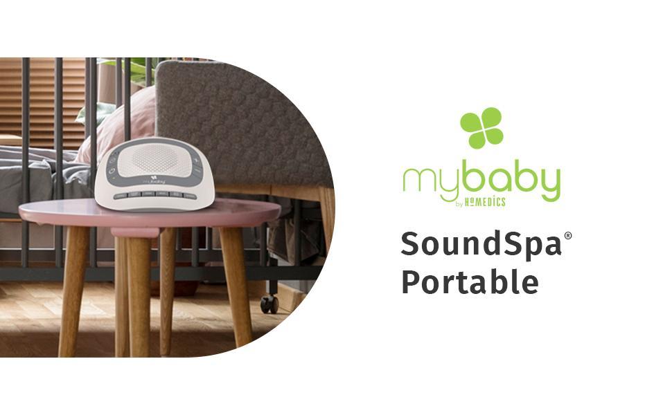 MyBaby sound spa machine portable