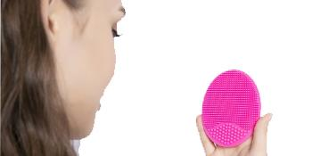 Soft Handheld Silicone Facial Cleansing Brush