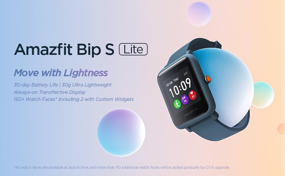 Amazfit Bip S Lite Smart Watch