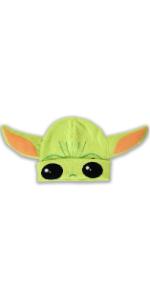 Beanie Hat Yoda Baby Grogu Mandalorian Licensed Baseball Hat Cosplay Star Wars Disney Green