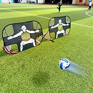 Football training frame