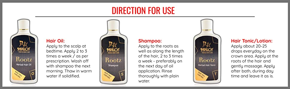 Rootz directions for use