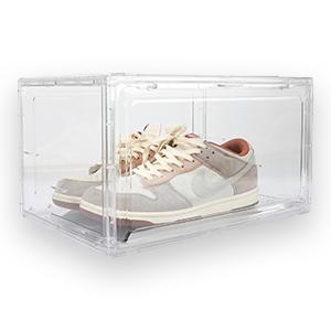 Clear Plastic Stackable Shoe Boxes