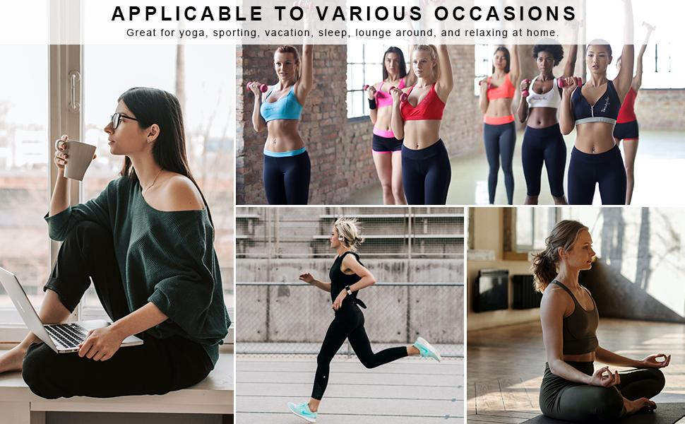 Envlon Women's Jogger Pants for Casual / Shopping / Workout / Running / Home