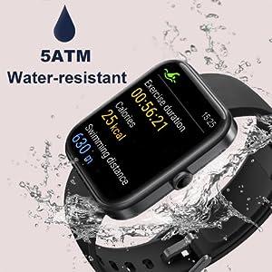 5ATM Waterproof