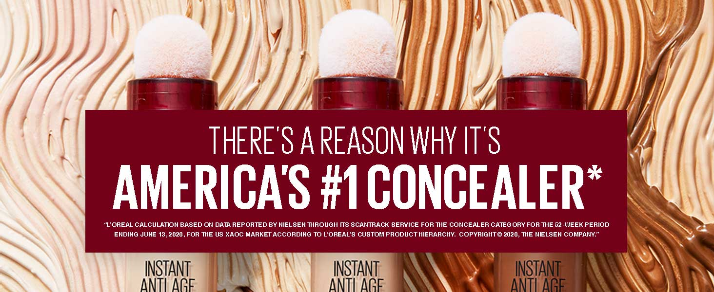 there's a reason why its america's #1 concealer
