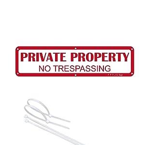 12X3 private sign