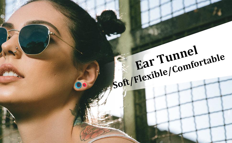 Soft Silicone Ear Gauges