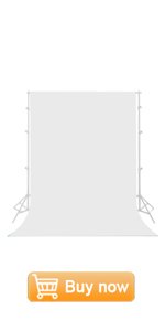 6 x 9 ft White Screen Backdrop