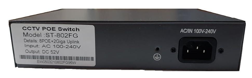 PoE Switch/8 port