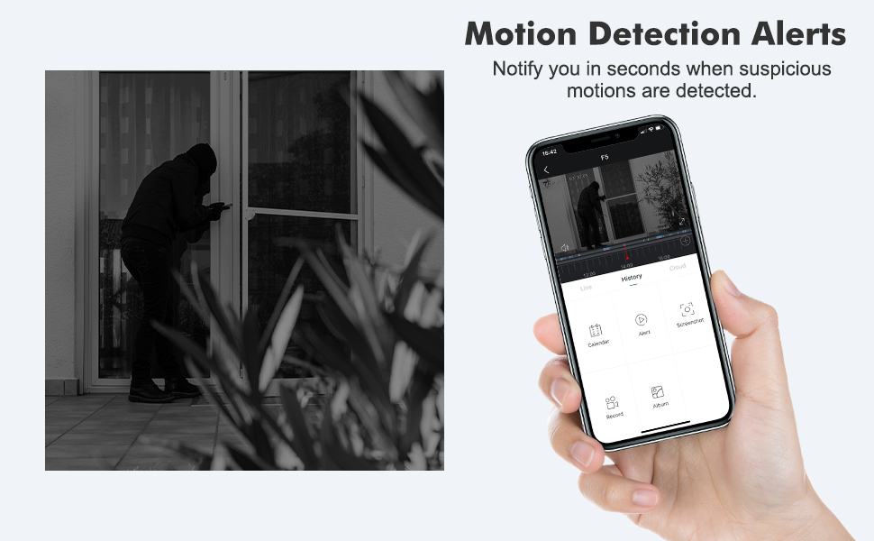 home security camera with mobile app