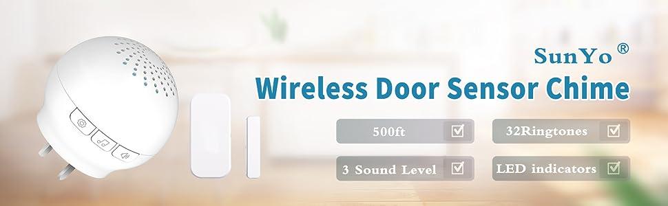 SunYo Wireless Door Sensor Chime