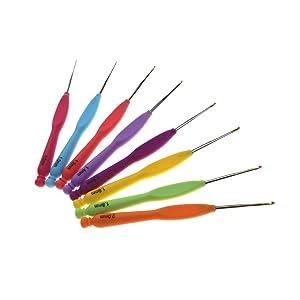 Katech Colorful Handle Crochet Hook
