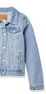 girls trucker jacket
