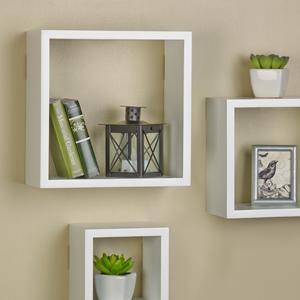 melannco cube shelfMelannco chunky shelves