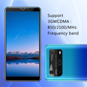 Support 3GWCDMA : 850/2100/MHz Frequency band