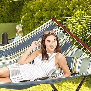spacious hammock
