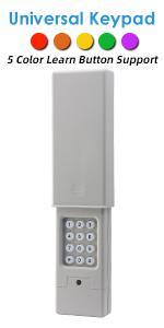 universal garage door keypad