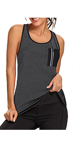 summer loose fit tank top