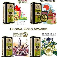 Global Awards Ellora Farms Olive Oil PDO