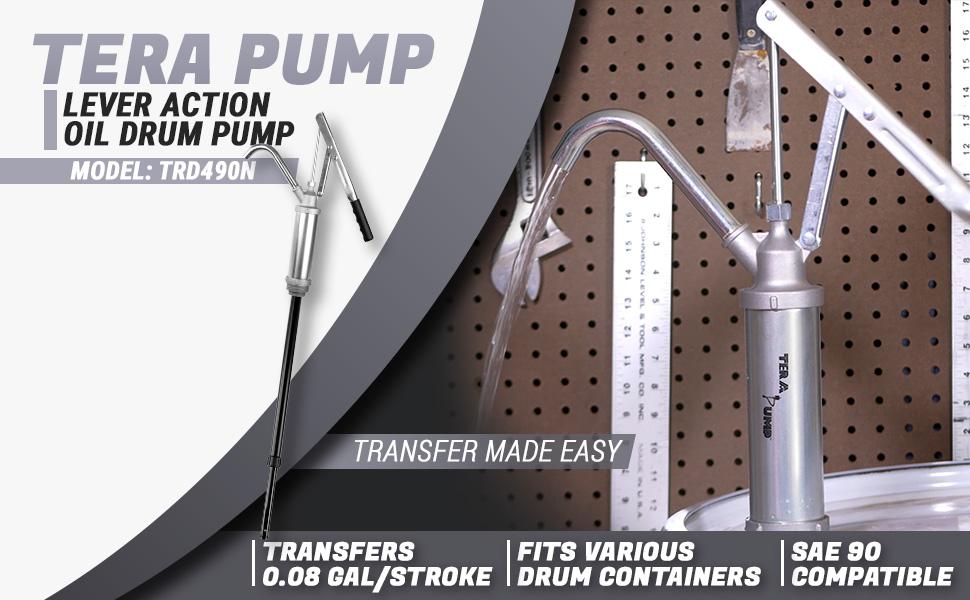 tera pump trd490n lever action oil pump