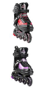 Red/Purple Inline Skates