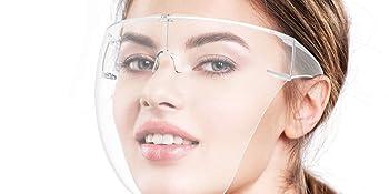 True-Ally full glass face shield