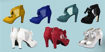 Seven colors shoes