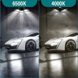 garage  led shop light  garage accessories for men  garage led light  triple glow led garage light