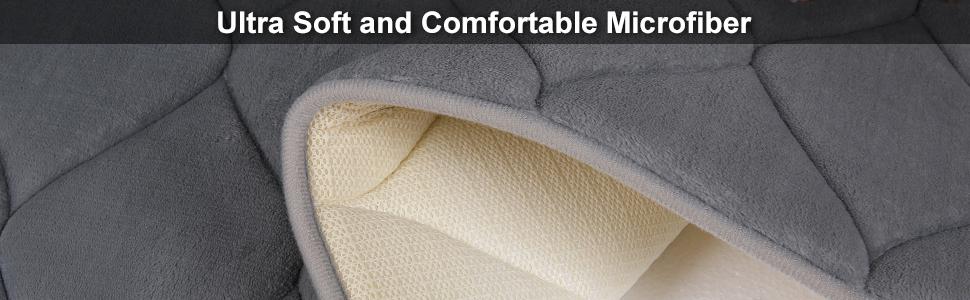 Soft Comfortable Microfiber Bath Mat