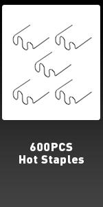 600PCS Hot Staples