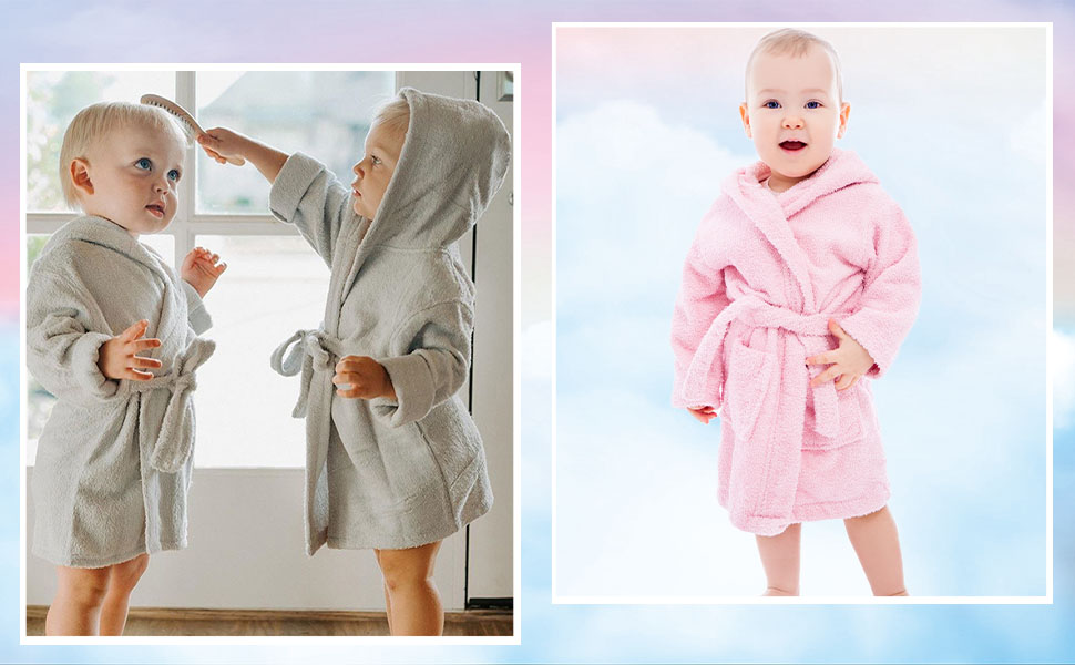 toddlers robe