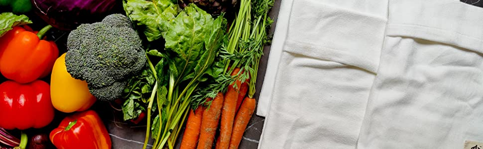 bags and veggies