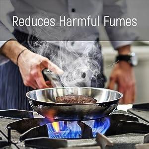 reduce harmful fumes