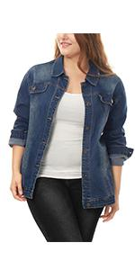 jean jackets plus